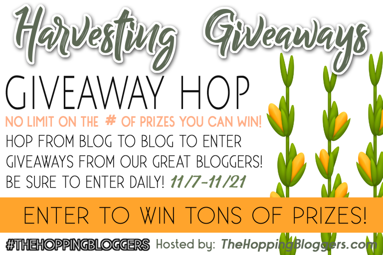 Harvesting Giveaways Giveaway Hop