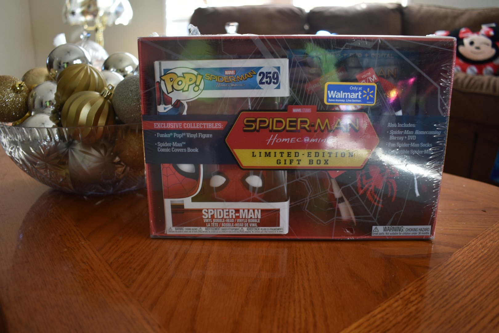 New Exclusive Spider Man Homecoming Limited Edition Gift Box From