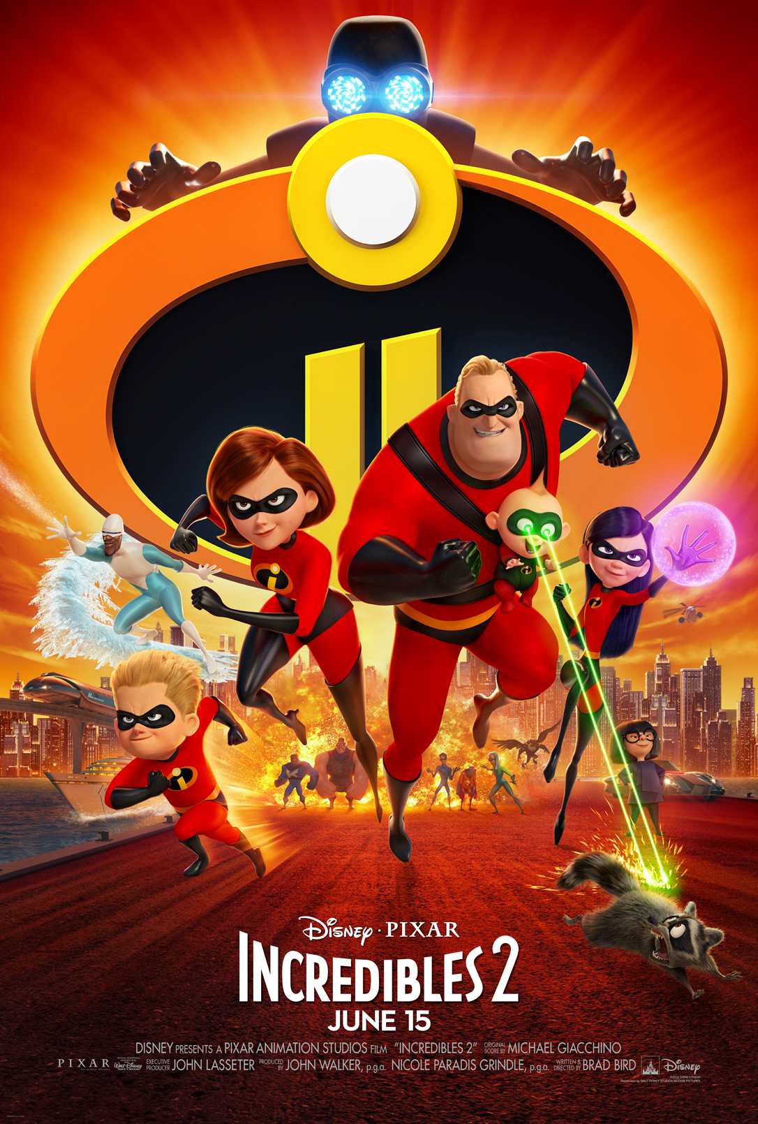 Free INCREDIBLES 2 Activity Pages