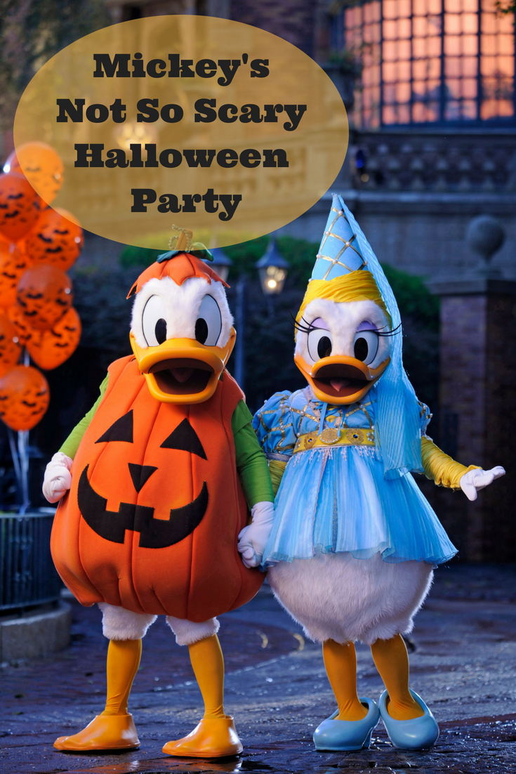 Mickey's Not So Scary Halloween Party Hosts New Experiences
