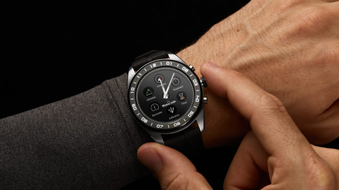 Making every minute count with LG - Watch W7 Smartwatch 44.5mm Stainless Steel