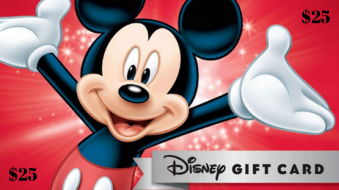 Enter to win a $25 Disney Gift Card #Disney #Giveaway #DisneyPartner