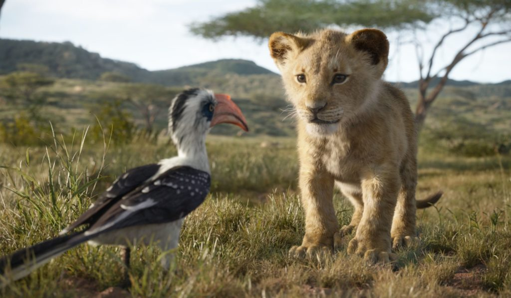 The Lion King opens in U.S. theaters on July 19, 2019.