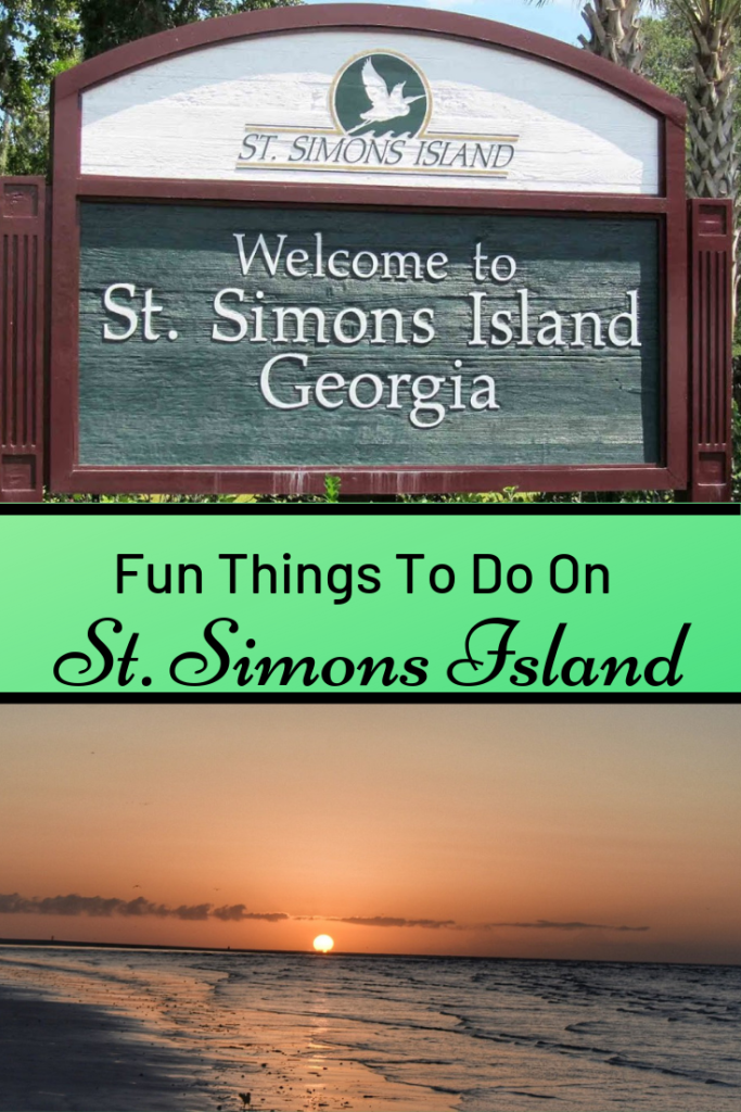 Fun Things To Do On St. Simons Island