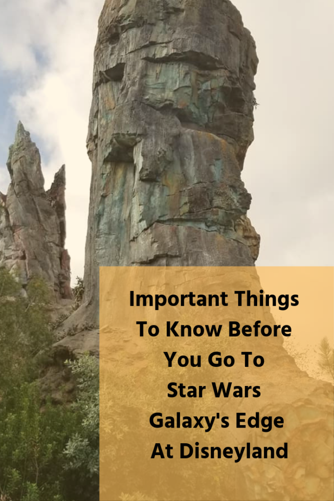 Important Things To Know Before You Go To Star Wars Galaxy's Edge At Disneyland #NowMoreThenEver #GalaxyEdge