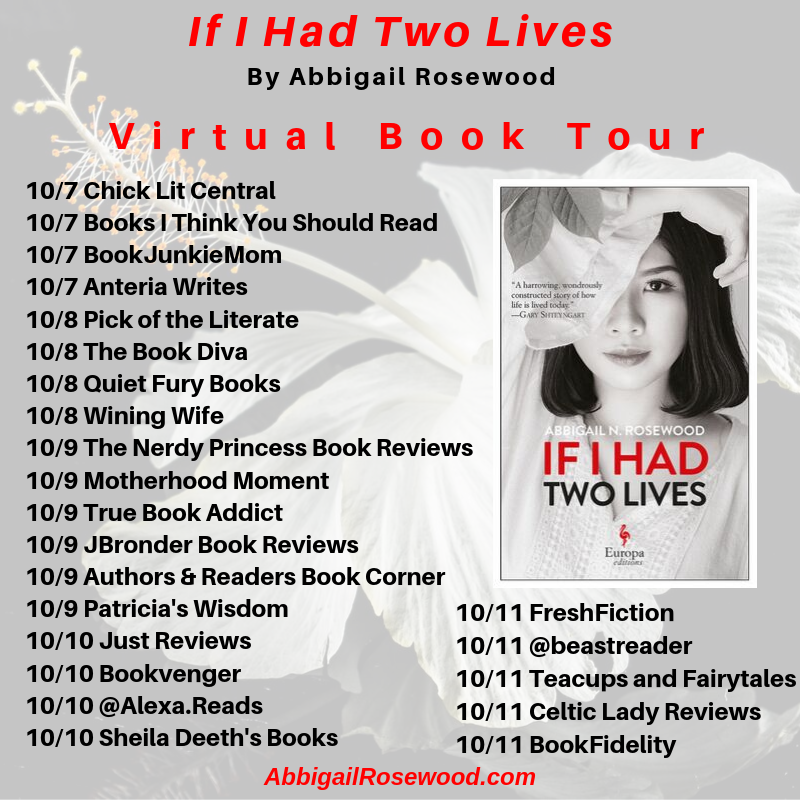 If I Had Two Lives Virtual Book Tour + Giveaway