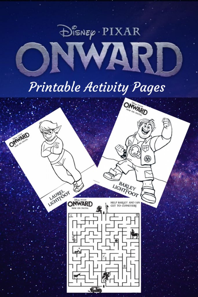 Free Onward Activity Sheets and Coloring Pages