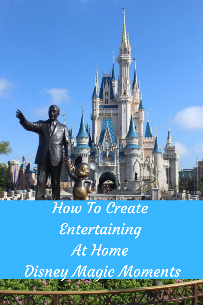 How To Create Entertaining At Home Disney Magic Moments #DisneyMagicMoments