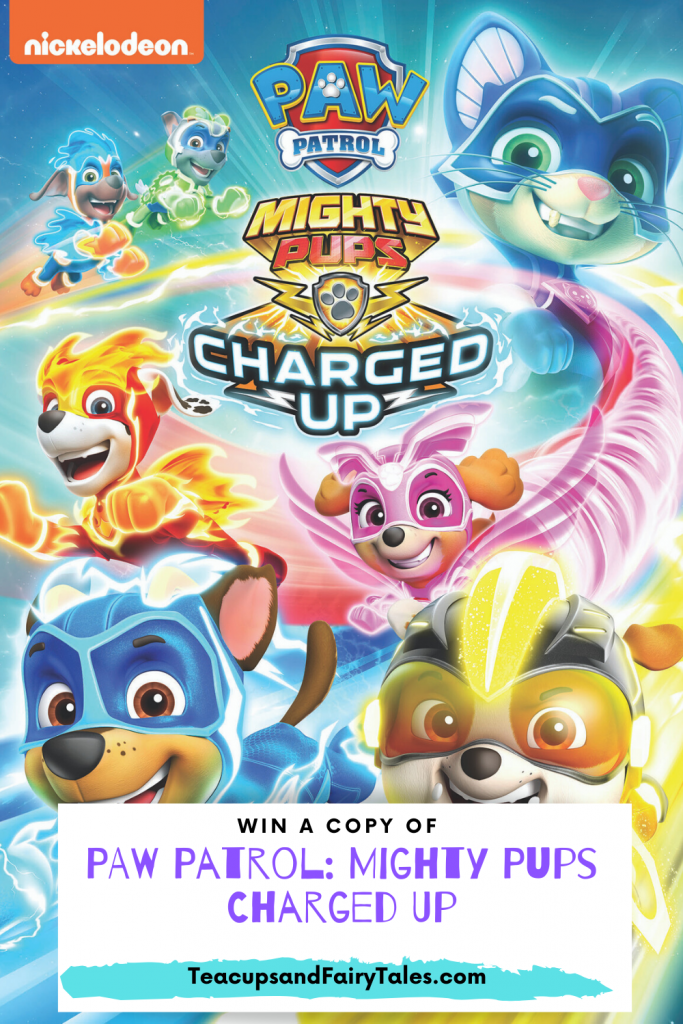 Win a copy of PAW Patrol: Mighty Pups Charged Up